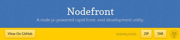 Nodefront